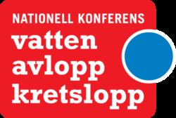 Vatten Avlopp Kretslopp logotyp