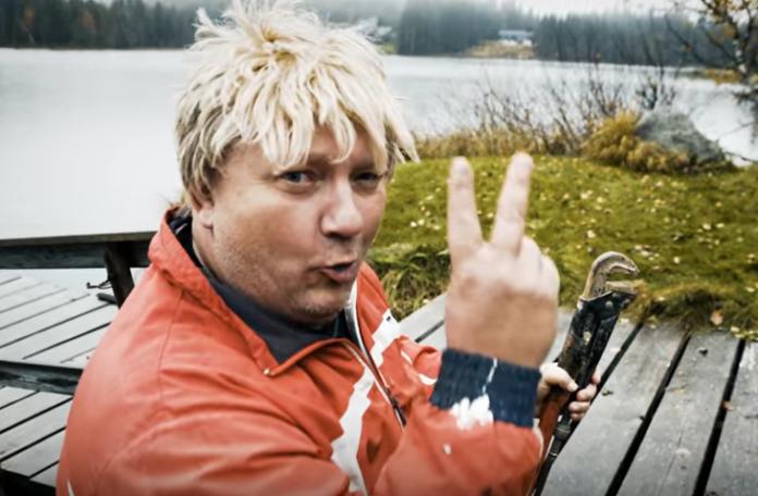 Bild från rolig film om små avlopp va-planering