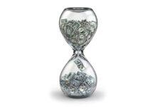 Pengar i timglas