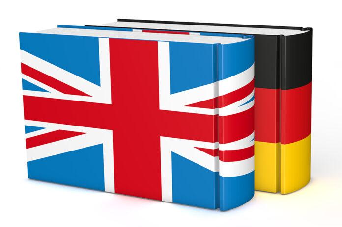 engelsk och tysk ordbok